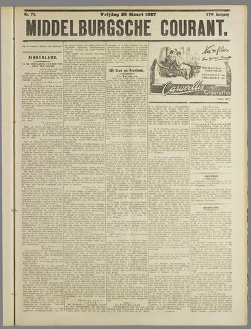 Middelburgsche Courant 1927-03-25