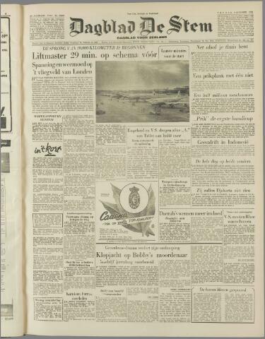 de Stem 1953-10-09