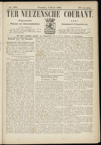 Ter Neuzensche Courant. Algemeen Nieuws- en Advertentieblad voor Zeeuwsch-Vlaanderen / Neuzensche Courant ... (idem) / (Algemeen) nieuws en advertentieblad voor Zeeuwsch-Vlaanderen 1880-03-03