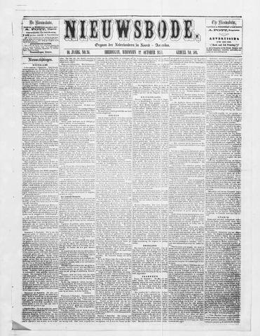 Sheboygan Nieuwsbode 1859-10-12