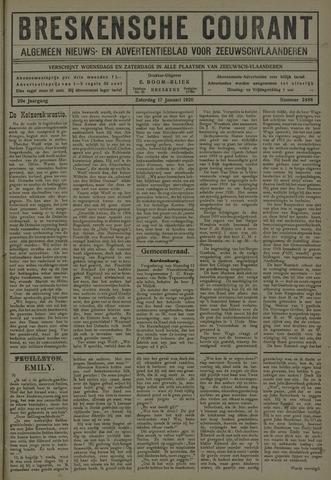 Breskensche Courant 1920-01-17