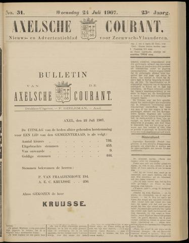 Axelsche Courant 1907-07-22