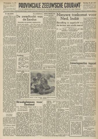 Provinciale Zeeuwse Courant 1947-07-26