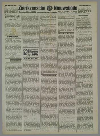 Zierikzeesche Nieuwsbode 1934-04-16