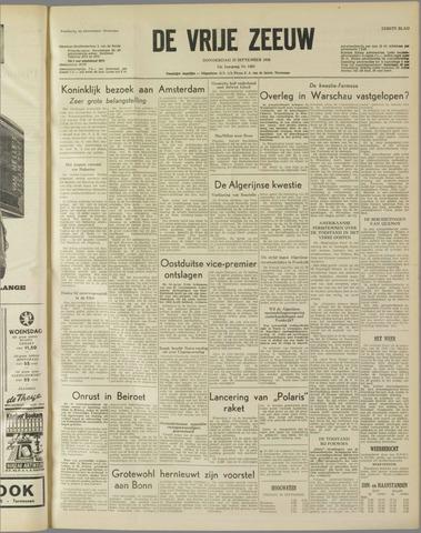 de Vrije Zeeuw 1958-09-25