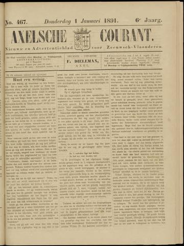Axelsche Courant 1891