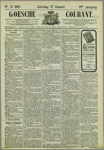 Goessche Courant 1912-01-27