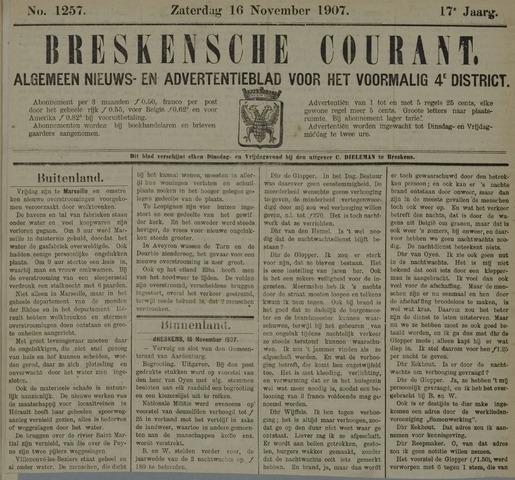 Breskensche Courant 1907-11-16