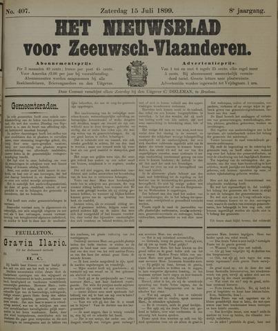 Nieuwsblad voor Zeeuwsch-Vlaanderen 1899-07-15