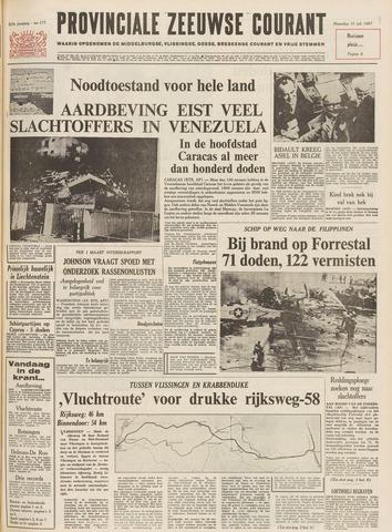 Provinciale Zeeuwse Courant 1967-07-31
