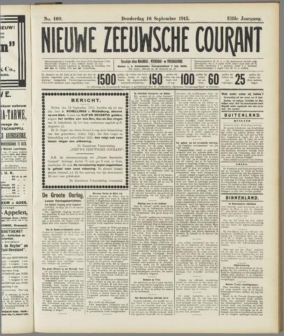 Nieuwe Zeeuwsche Courant 1915-09-16