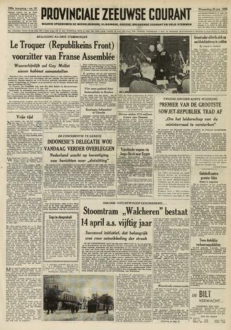 Provinciale Zeeuwse Courant 1956-01-25
