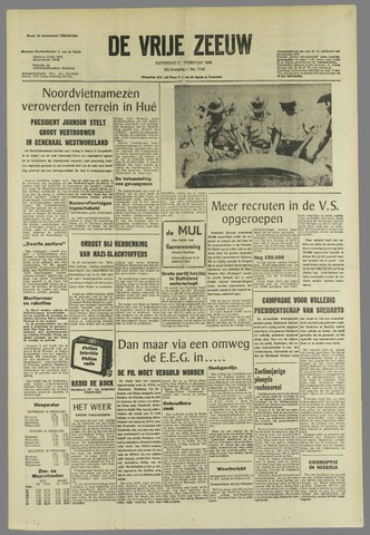 de Vrije Zeeuw 1968-02-24