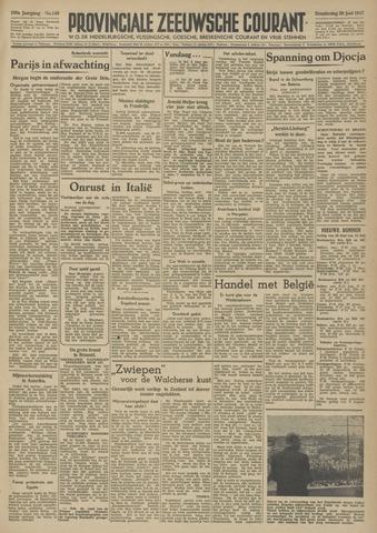 Provinciale Zeeuwse Courant 1947-06-26