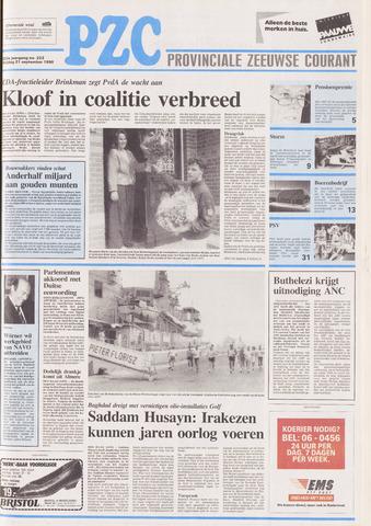Provinciale Zeeuwse Courant 1990-09-21