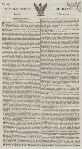 Middelburgsche Courant 1829-03-07