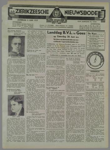 Zierikzeesche Nieuwsbode 1937-06-05