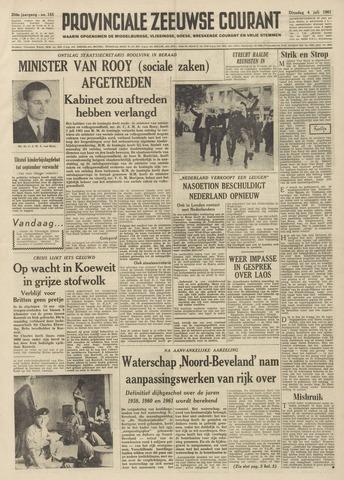 Provinciale Zeeuwse Courant 1961-07-04