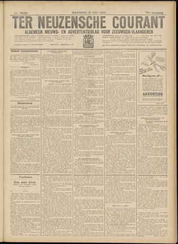 Ter Neuzensche Courant. Algemeen Nieuws- en Advertentieblad voor Zeeuwsch-Vlaanderen / Neuzensche Courant ... (idem) / (Algemeen) nieuws en advertentieblad voor Zeeuwsch-Vlaanderen 1937-07-12