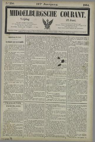 Middelburgsche Courant 1884-06-27