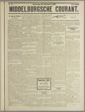Middelburgsche Courant 1927-02-28