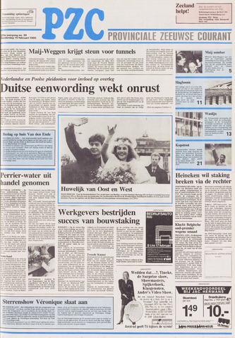 Provinciale Zeeuwse Courant 1990-02-15
