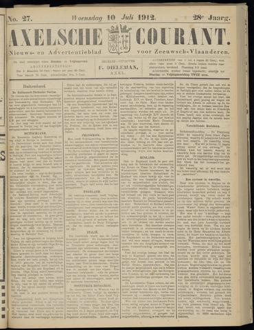 Axelsche Courant 1912-07-10