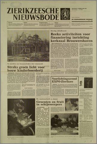 Zierikzeesche Nieuwsbode 1985-02-05