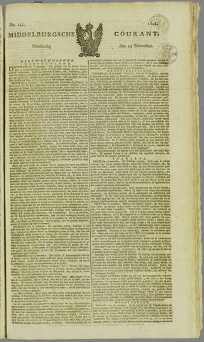 Middelburgsche Courant 1824-11-25