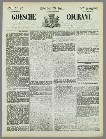 Goessche Courant 1890-06-21