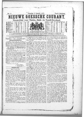 Nieuwe Goessche Courant 1875-01-05