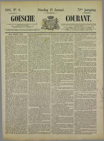 Goessche Courant 1885-01-13