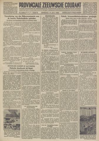 Provinciale Zeeuwse Courant 1942-07-14