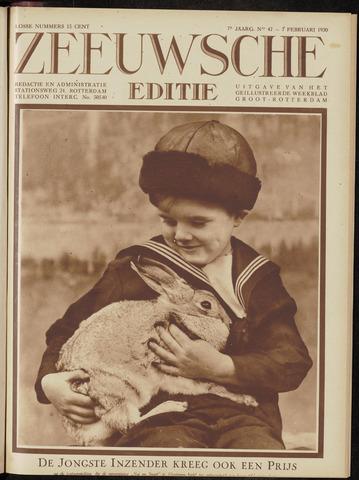 Ons Zeeland / Zeeuwsche editie 1930-02-07