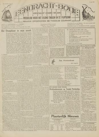 Eendrachtbode (1945-heden)/Mededeelingenblad voor het eiland Tholen (1944/45) 1959-05-08