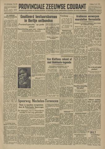 Provinciale Zeeuwse Courant 1948-07-02