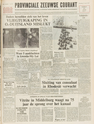 Provinciale Zeeuwse Courant 1970-03-11