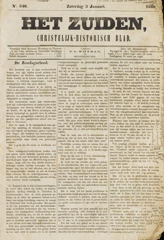 Het Zuiden, Christelijk-historisch blad 1880