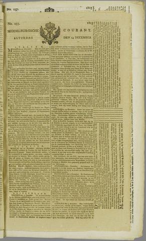 Middelburgsche Courant 1805-12-14