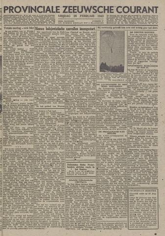 Provinciale Zeeuwse Courant 1943-02-26