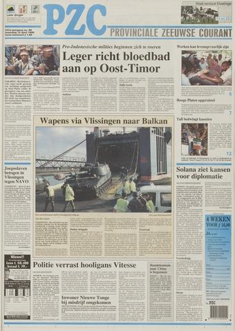 Provinciale Zeeuwse Courant 1999-04-12