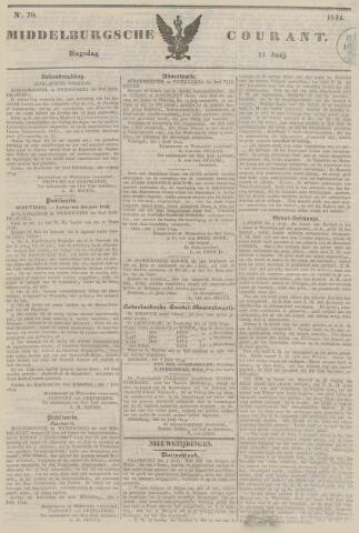Middelburgsche Courant 1844-06-11