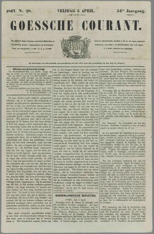 Goessche Courant 1867-04-05
