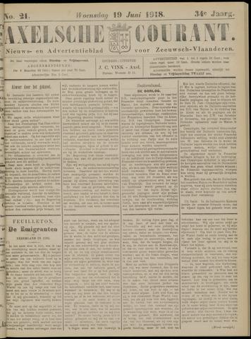 Axelsche Courant 1918-06-19