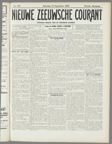 Nieuwe Zeeuwsche Courant 1906-09-22