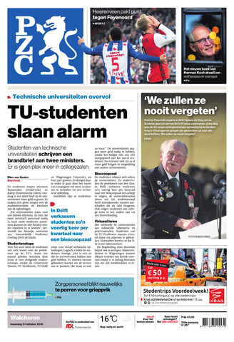 Provinciale Zeeuwse Courant 2016-10-31