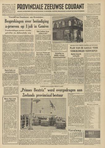 Provinciale Zeeuwse Courant 1958-06-11