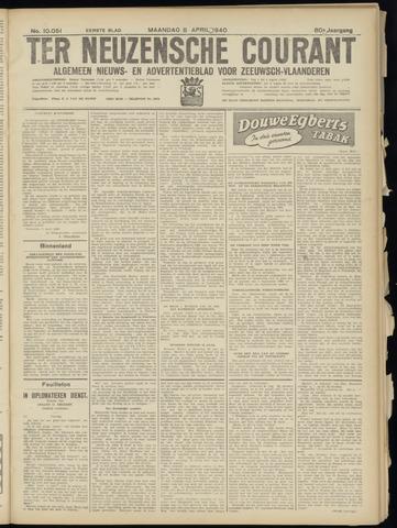 Ter Neuzensche Courant. Algemeen Nieuws- en Advertentieblad voor Zeeuwsch-Vlaanderen / Neuzensche Courant ... (idem) / (Algemeen) nieuws en advertentieblad voor Zeeuwsch-Vlaanderen 1940-04-08
