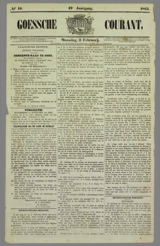 Goessche Courant 1862-02-03
