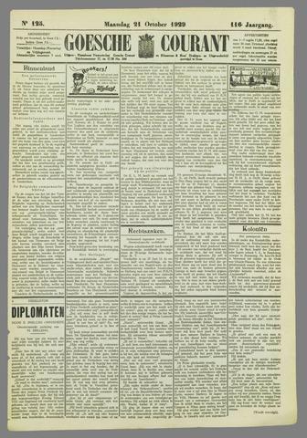Goessche Courant 1929-10-21
